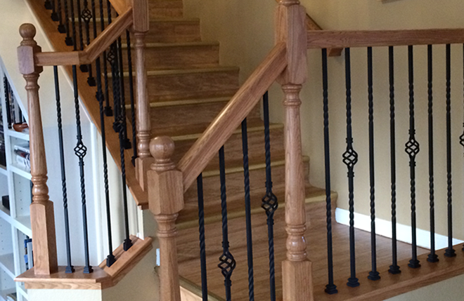 Awesome Oak Stair Builder In Reno NV
